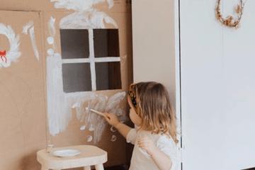 Art fighting against Child trafficking
